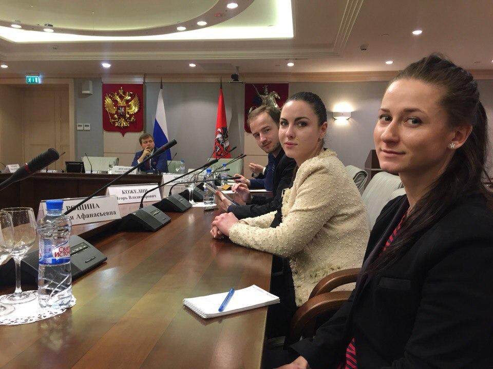 молодежный парламент на заседании Правления Союза развития наукоградов